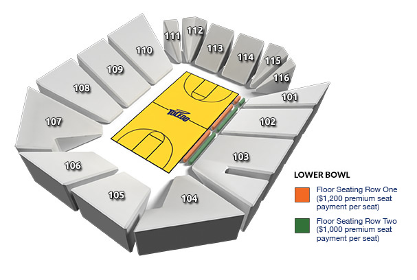 Savage Arena Seating Chart: Floor Seating